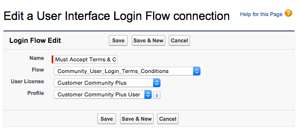 Create New Login Flow part 2