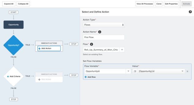 Process Builder for Flow 1 part 3