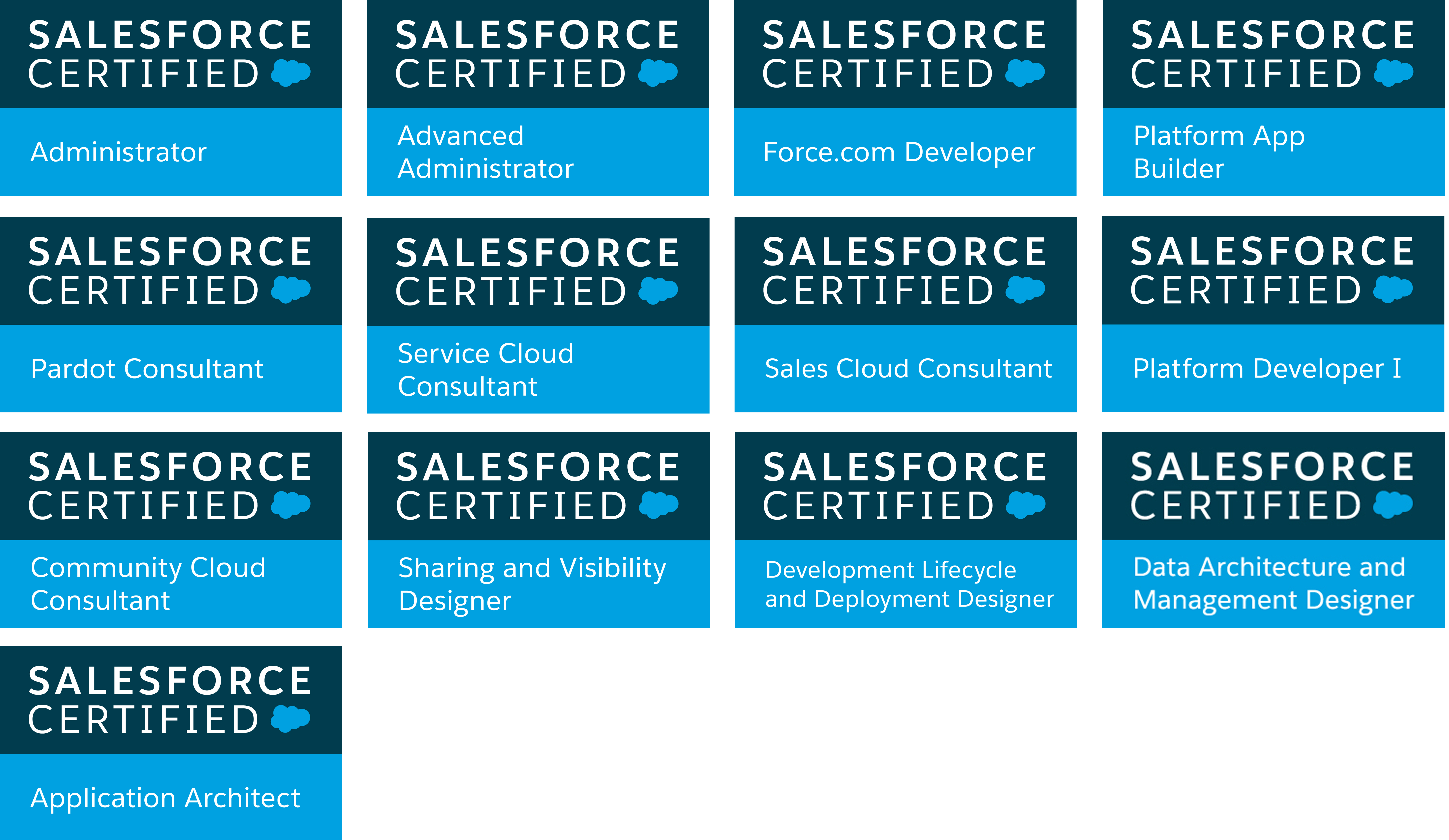 Sfdc Certification Images Creative Certificate Design Inspiration