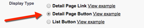 Detail Page Button - Arrow