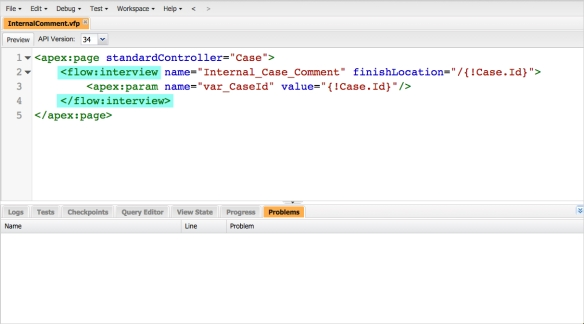How to put your Flow in a Visualforce Page | Salesforce Sidekick