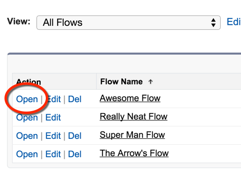 Multiple Flows in the System
