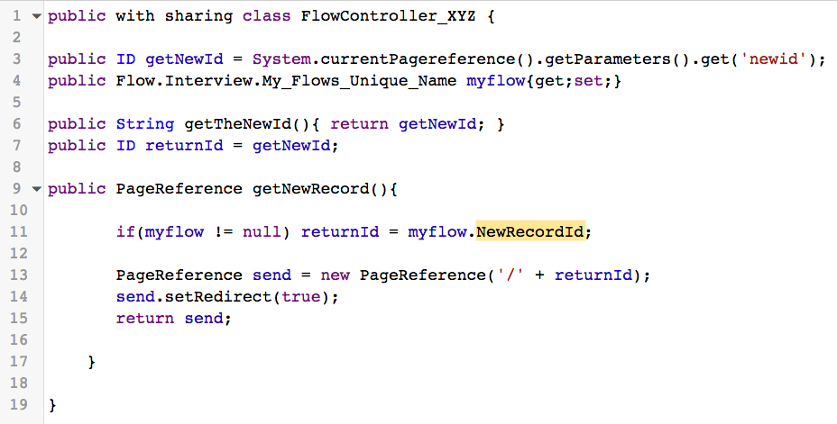 How to pass a new variable out of Flow   Salesforce Sidekick