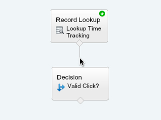 Connect Lookup to Decision