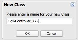Create a new Apex Class p2