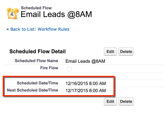 How to setup a recurring scheduled Process Builder and/or