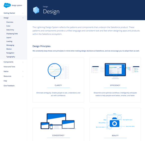 Using Lightning Design System to improve your Salesforce1