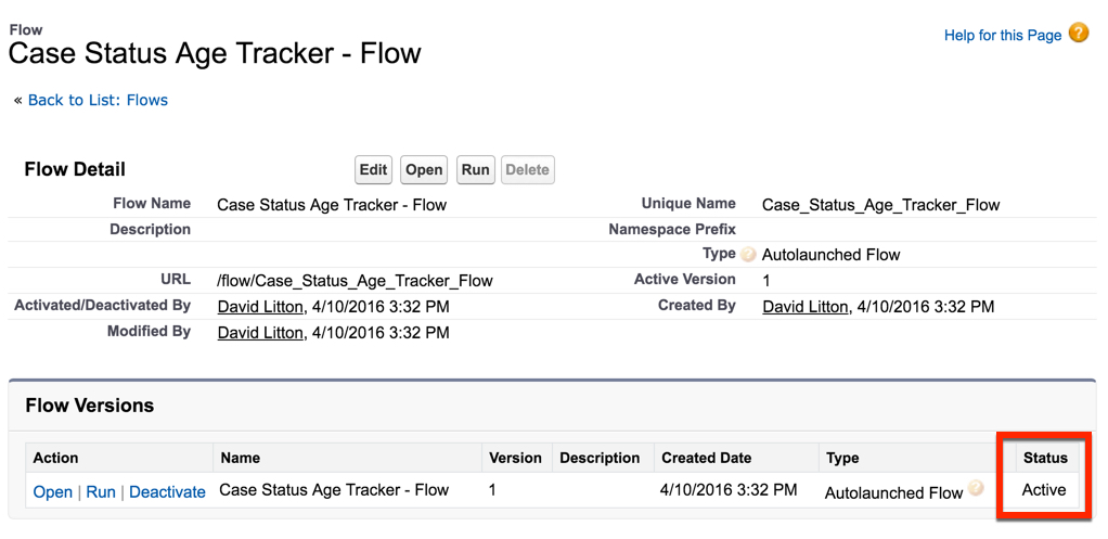 How to track the Case Age of each Status   Salesforce Sidekick