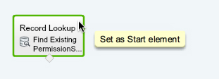 Set Start Element