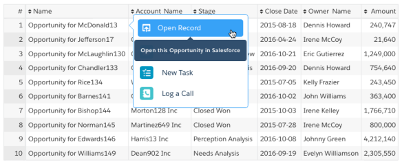 How to add Quick Actions and a Link in Wave Analytics