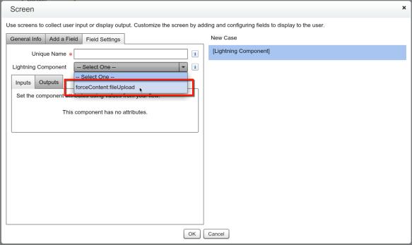 The Lowdown on Uploading a File inside a Flow | Salesforce